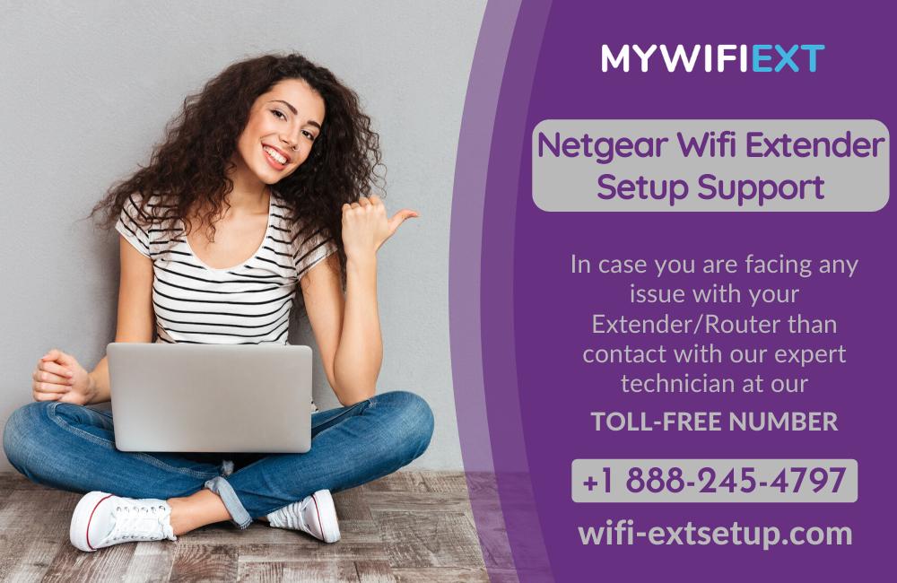 Mywifiext | Login/Setup your Netgear Extender using mywifiext.net