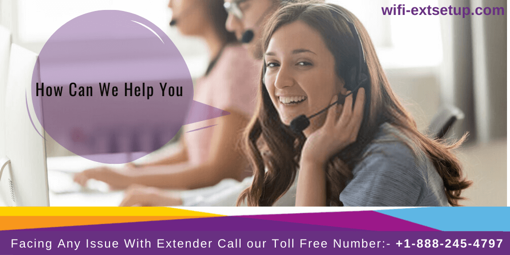 A girl Asking, How can we help you with extender.