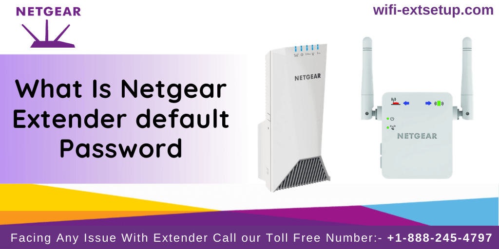 Netgear Extender Default Password, two white color netgear Extender Displayed