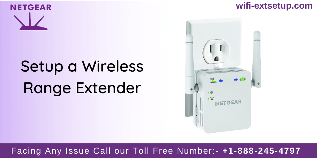 A white color N300 wifi extender for extending wifi range.