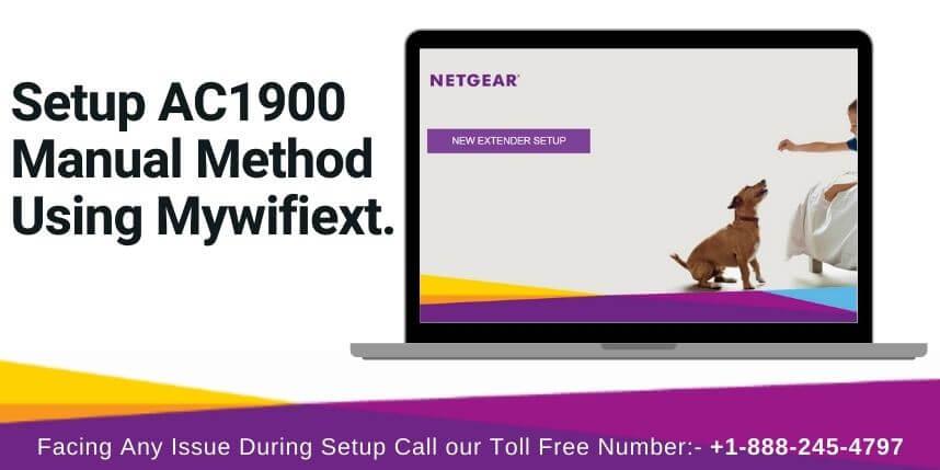 netgear ac1900 setup - mywifiext.net