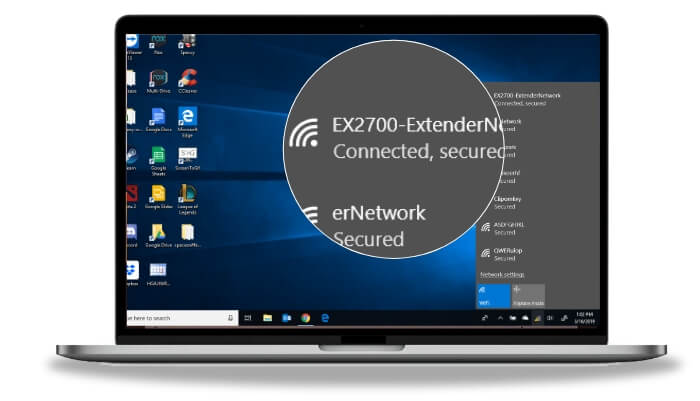 connect devices to EX6120