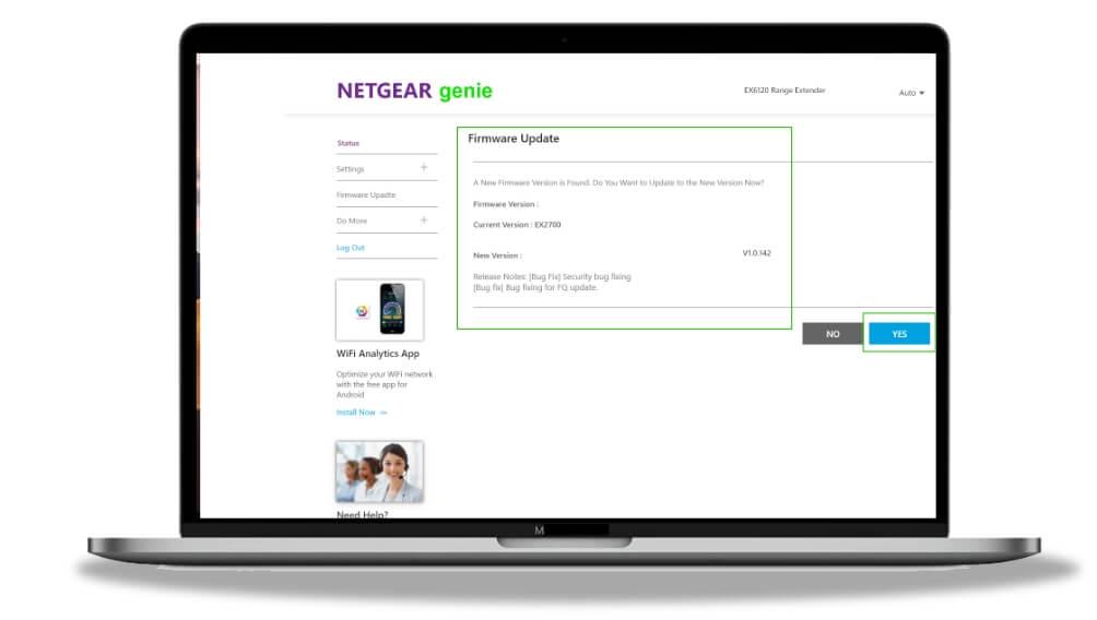 download firmware on netgear support