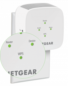 WPS LED Light Netgear EX6100 AC750